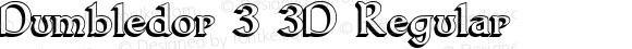 Dumbledor 3 3D Regular