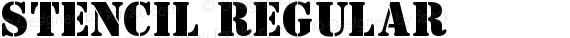 Stencil Regular preview image