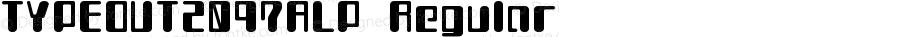 TYPEOUT2097ALP-Regular