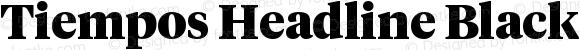 Tiempos Headline Black