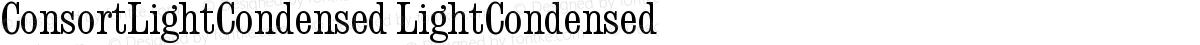 ConsortLightCondensed LightCondensed