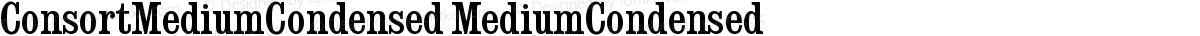 ConsortMediumCondensed MediumCondensed
