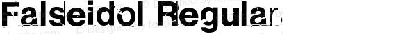 Falseidol Regular preview image