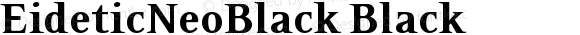 EideticNeoBlack Black Version 001.000