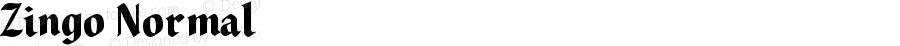 Zingo Normal Version 001.000