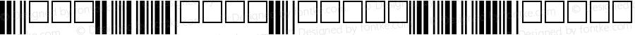 Code39SmallMediumTT-Regular