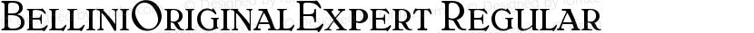 BelliniOriginalExpert Regular Preview Image