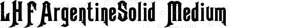 LHFArgentineSolid Medium Version 001.000