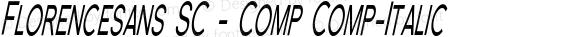 Florencesans SC - Comp Comp-Italic