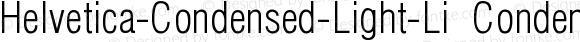 Helvetica-Condensed-Light-Li CondensedLightLi