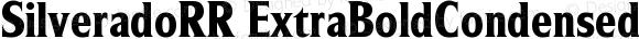 SilveradoRR ExtraBoldCondensed