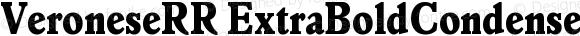 VeroneseRR ExtraBoldCondensed