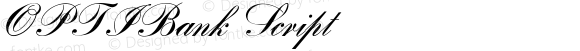 OPTIBank Script Version 001.000