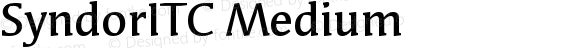 Syndor ITC Medium