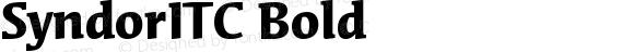 Syndor ITC Bold