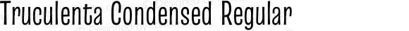 Truculenta Condensed