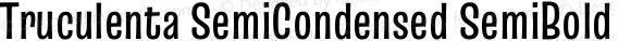 Truculenta SemiCondensed