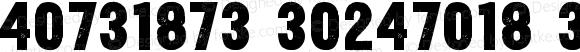 Yardbird Numerals Normal