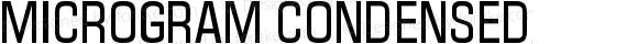 Microgram Condensed