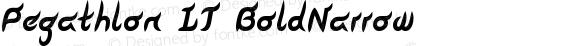 Pegathlon LT BoldNarrow