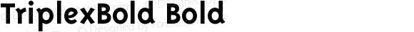 TriplexBold Bold