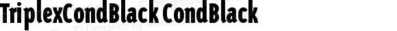 TriplexCondBlack CondBlack