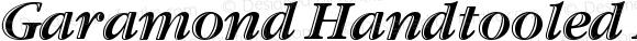 Garamond Handtooled ITC Italic