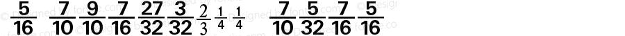 NumericsP11 Medium Version 001.001
