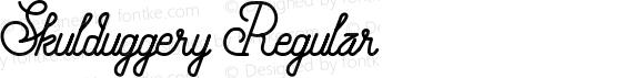 Skulduggery Regular