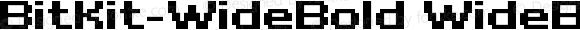 BitKit-WideBold WideBold
