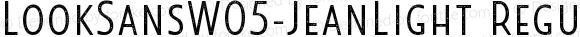 LookSansW05-JeanLight