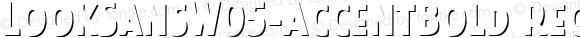 LookSansW05-AccentBold