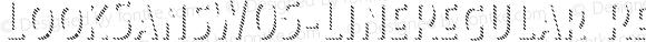 LookSansW05-LineRegular