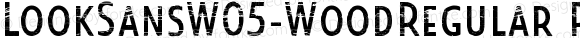 LookSansW05-WoodRegular