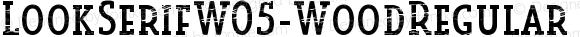 LookSerifW05-WoodRegular
