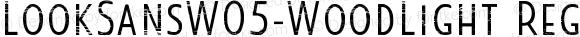 LookSansW05-WoodLight