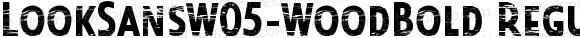 LookSansW05-WoodBold