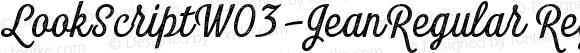 LookScriptW03-JeanRegular