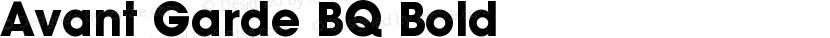 Avant Garde BQ Bold Preview Image