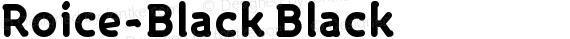 Roice-Black Black preview image