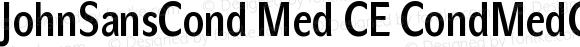 JohnSansCond Med CE CondMedCE