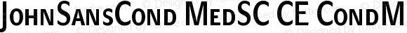 JohnSansCond MedSC CE CondMedSCCE