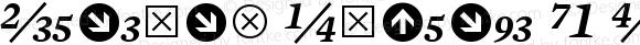 Mercury Numeric G1 SemiItalic