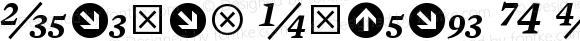 Mercury Numeric G4 SemiItalic