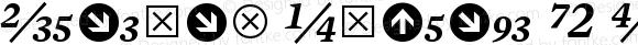 Mercury Numeric G2 SemiItalic