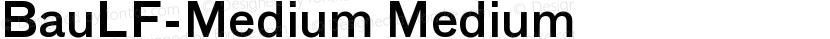 BauLF-Medium Medium Preview Image