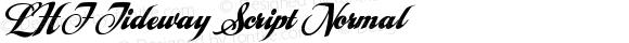 LHF Tideway Script Normal Version 001.001