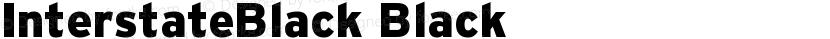 InterstateBlack Black Preview Image