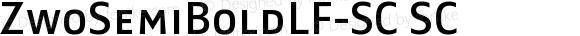 ZwoSemiBoldLF-SC SC Version 4.313