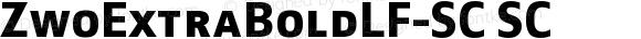 ZwoExtraBoldLF-SC SC Version 4.313